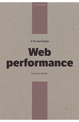 Web Performance Pocket Guide